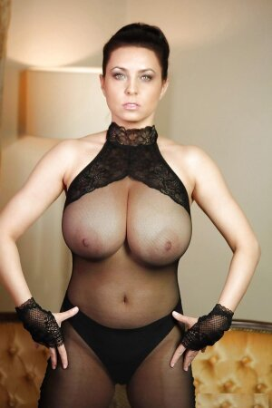 Boobs lingerie mature sexy