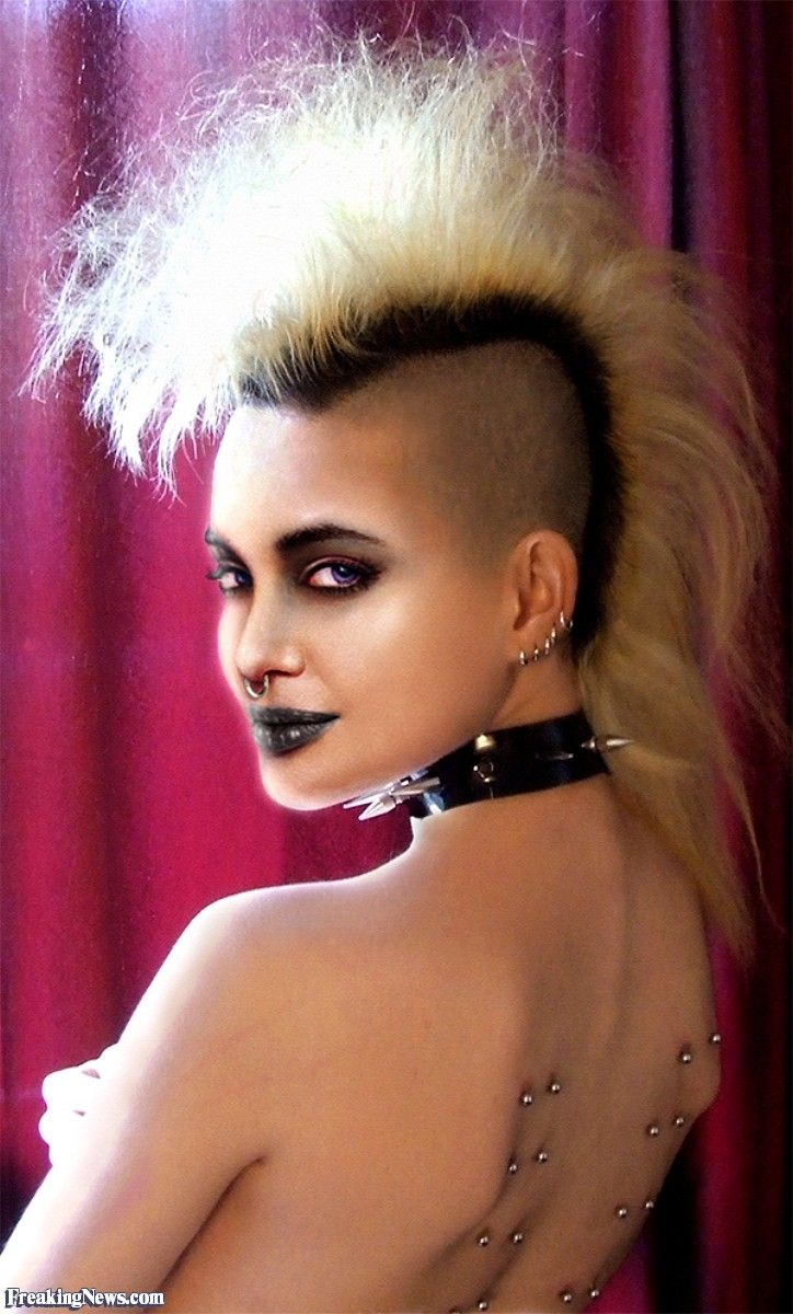 Nude black girls with mohawks