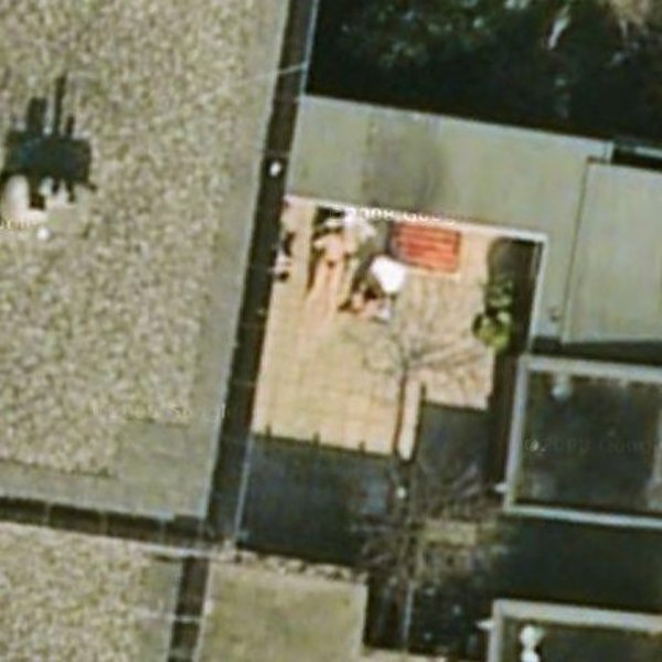 Naked google earth people