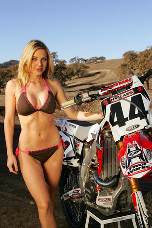 Motocross and sexy girls