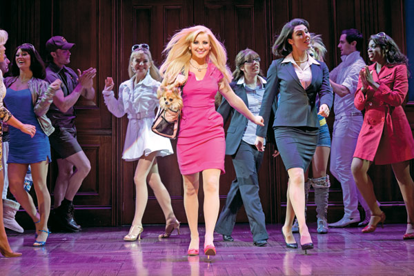 Legally blonde bournemouth