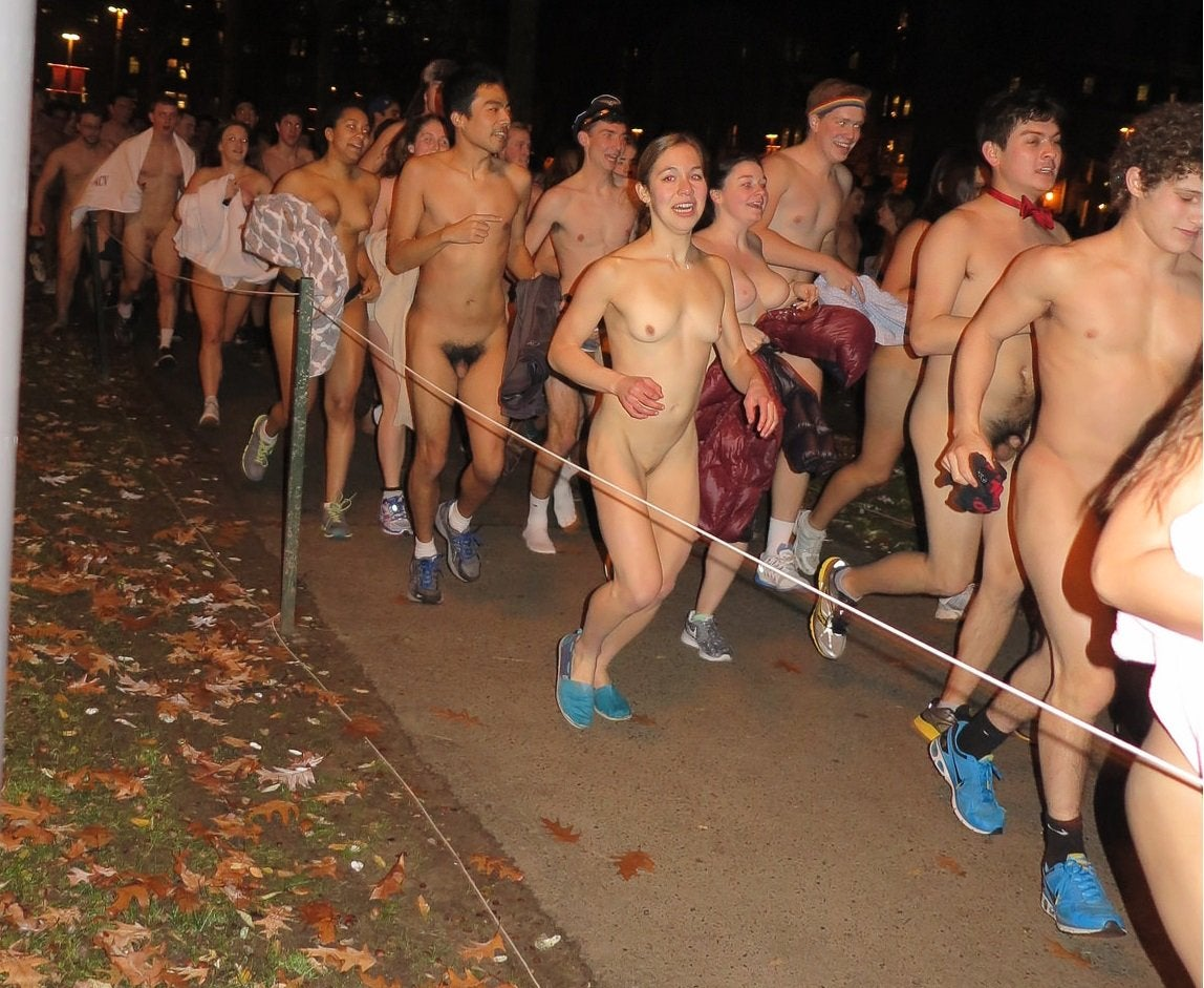 Naked college