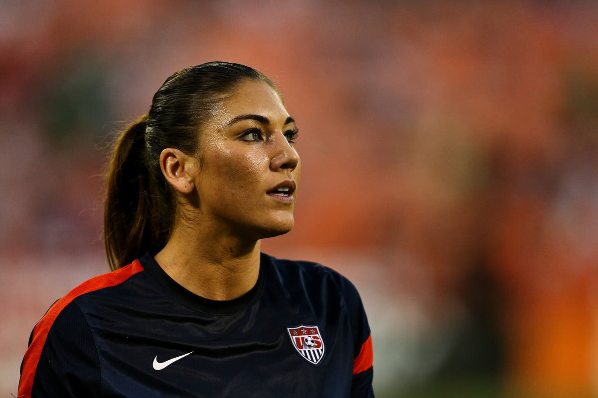 Naked photos of hope solo
