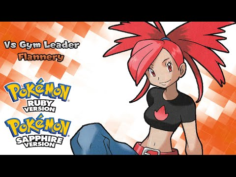 Pokemon ruby and sapphire gym leader music